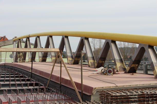 Brückenersatzneubau über die Warnow in Schwaan
