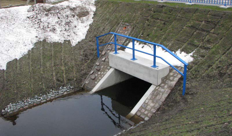 Brücke über den Teufelsgraben im Zuge der UER 16 bei Ludwigshof