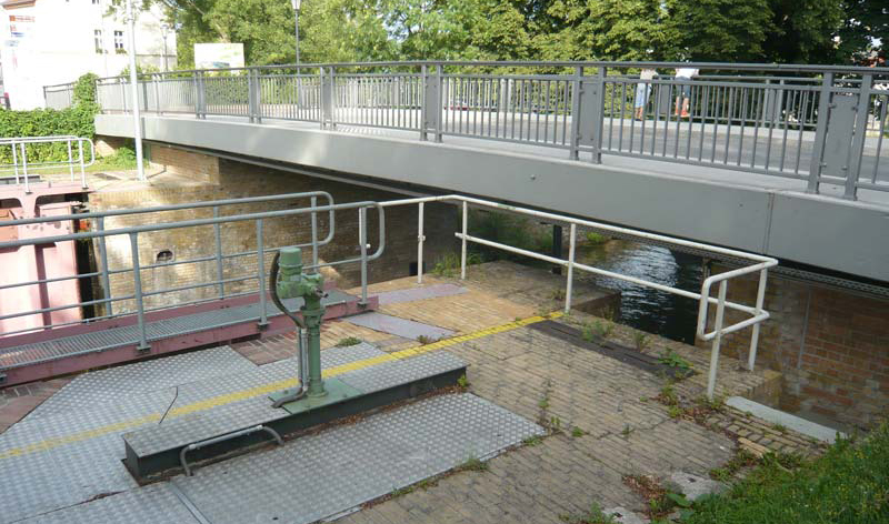Schleusenbrücke in Zehdenick